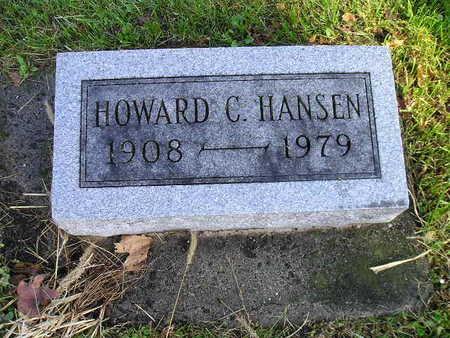 HANSEN, HOWARD C - Bremer County, Iowa   HOWARD C HANSEN