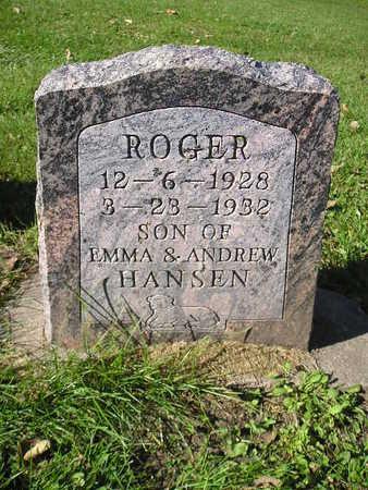 HANSEN, ROGER - Bremer County, Iowa | ROGER HANSEN