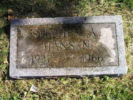 HANSIN, STEPHEN A - Bremer County, Iowa | STEPHEN A HANSIN