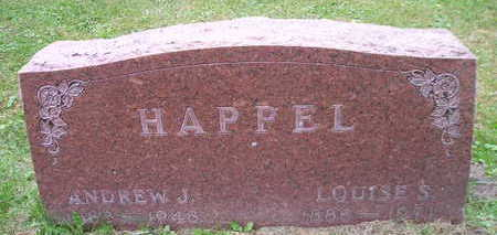 HAPPEL, LOUISE S - Bremer County, Iowa | LOUISE S HAPPEL