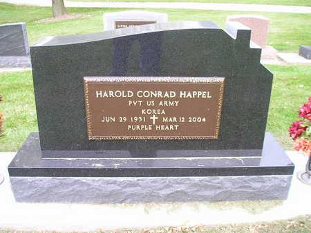 HAPPEL, HAROLD CONRAD - Bremer County, Iowa | HAROLD CONRAD HAPPEL
