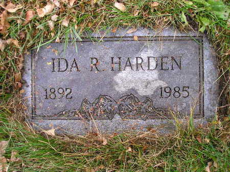 HARDEN, IDA R - Bremer County, Iowa | IDA R HARDEN