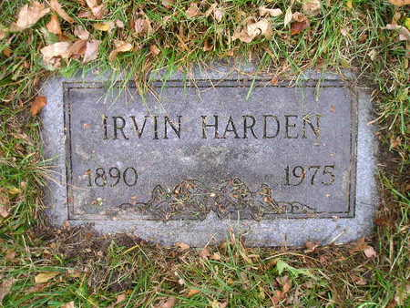 HARDEN, IRVIN - Bremer County, Iowa   IRVIN HARDEN