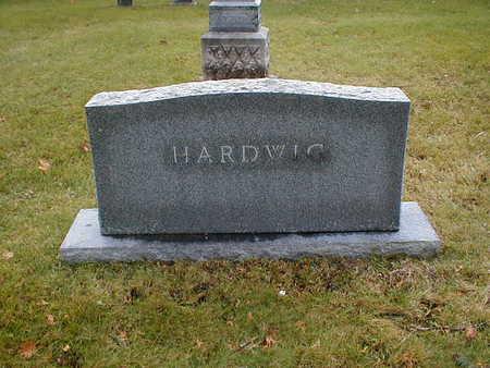 HARDWIG, FAMILY - Bremer County, Iowa | FAMILY HARDWIG