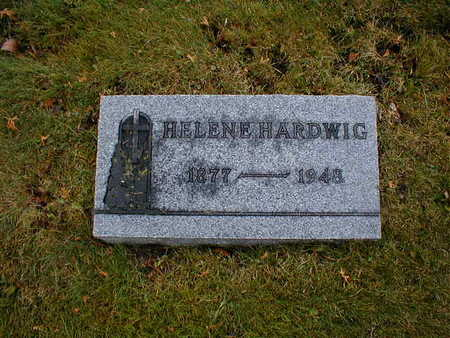 HARDWIG, HELEN E - Bremer County, Iowa   HELEN E HARDWIG