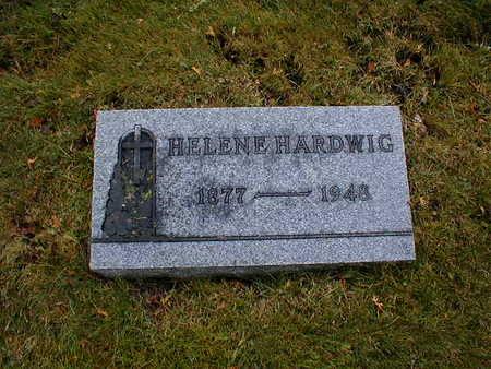 HARDWIG, HELENE - Bremer County, Iowa   HELENE HARDWIG