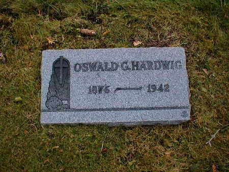 HARDWIG, OSWALD G - Bremer County, Iowa | OSWALD G HARDWIG