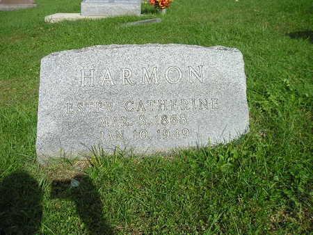 HARMON, ESTHER CATHERINE - Bremer County, Iowa   ESTHER CATHERINE HARMON