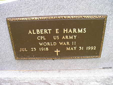 HARMS, ALBERT E - Bremer County, Iowa | ALBERT E HARMS