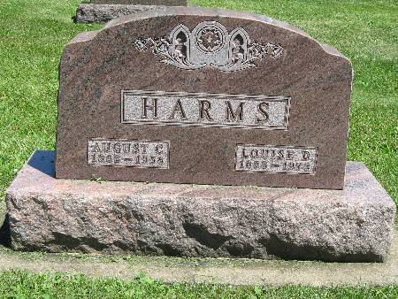 HARMS, LOUISE D. - Bremer County, Iowa | LOUISE D. HARMS