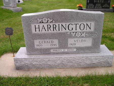 HARRINGTON, GERALD - Bremer County, Iowa | GERALD HARRINGTON