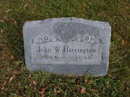 HARRINGTON, JOHN W - Bremer County, Iowa | JOHN W HARRINGTON