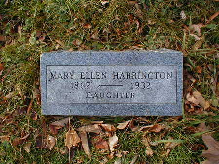 HARRINGTON, MARY ELLEN - Bremer County, Iowa | MARY ELLEN HARRINGTON