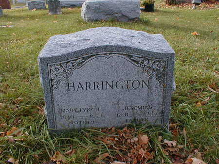 LYNCH HARRINGTON, MARY - Bremer County, Iowa | MARY LYNCH HARRINGTON