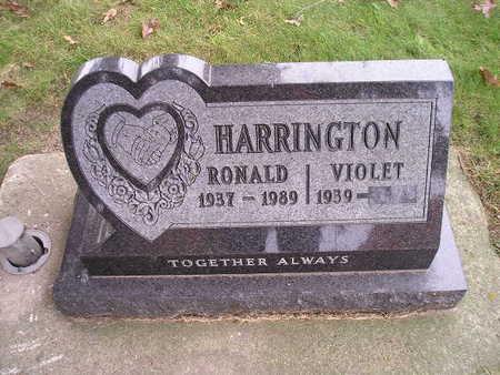 HARRINGTON, VIOLET - Bremer County, Iowa | VIOLET HARRINGTON