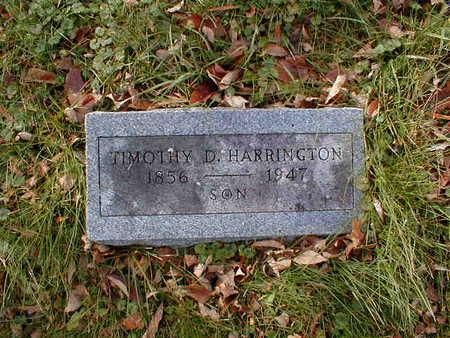 HARRINGTON, TIMOTHY D - Bremer County, Iowa | TIMOTHY D HARRINGTON