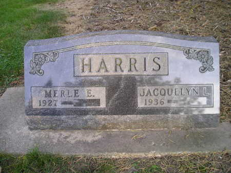 HARRIS, MERLE E - Bremer County, Iowa | MERLE E HARRIS