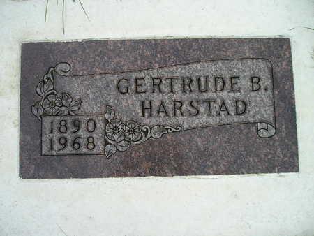 HARSTAD, GERTRUDE B - Bremer County, Iowa   GERTRUDE B HARSTAD