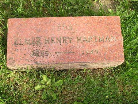 HARTMAN, ELMER HENRY - Bremer County, Iowa | ELMER HENRY HARTMAN