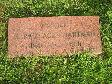 HARTMAN, MARY - Bremer County, Iowa | MARY HARTMAN