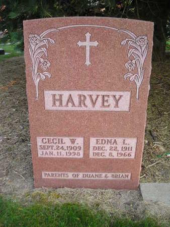 HARVEY, EDNA L - Bremer County, Iowa | EDNA L HARVEY