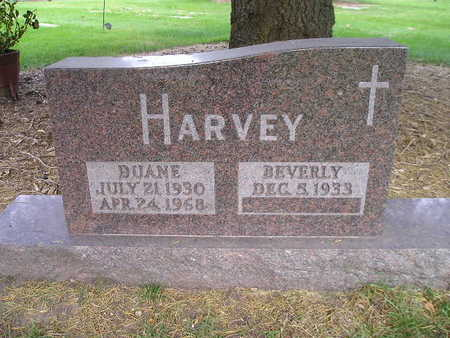 HARVEY, DUANE - Bremer County, Iowa   DUANE HARVEY