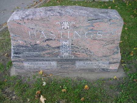 HASTINGS, CHARLES H - Bremer County, Iowa | CHARLES H HASTINGS