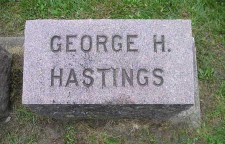 HASTINGS, GEORGE H - Bremer County, Iowa | GEORGE H HASTINGS