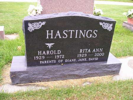 HASTINGS, HAROLD - Bremer County, Iowa | HAROLD HASTINGS