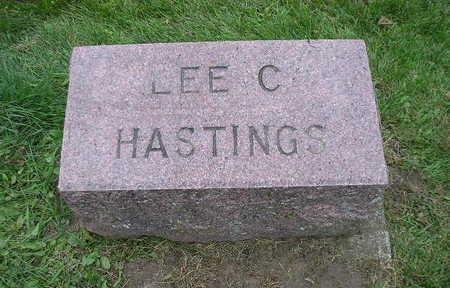 HASTINGS, LEE C - Bremer County, Iowa   LEE C HASTINGS