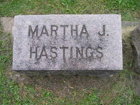 HASTINGS, MARTHA J - Bremer County, Iowa | MARTHA J HASTINGS