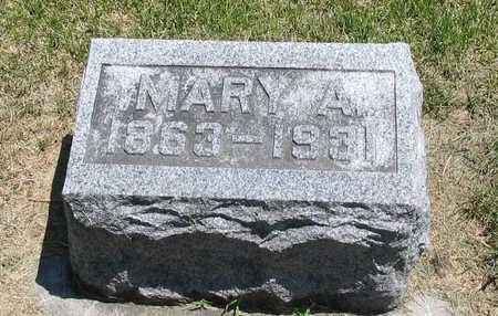 HATCH, MARY A. - Bremer County, Iowa   MARY A. HATCH