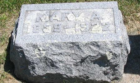 HATCH, MARY A. - Bremer County, Iowa | MARY A. HATCH