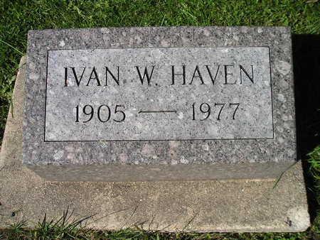 HAVEN, IVAN W - Bremer County, Iowa | IVAN W HAVEN