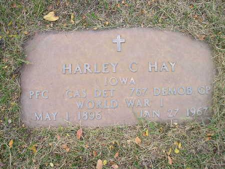 HAY, HARLEY C - Bremer County, Iowa | HARLEY C HAY