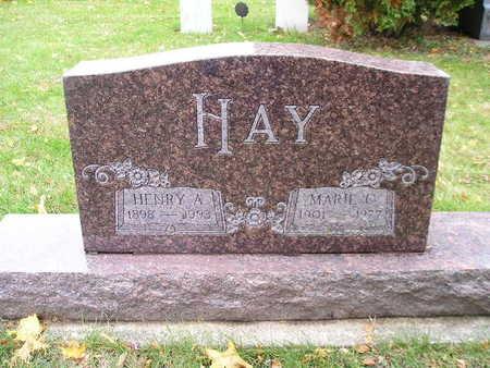 HAY, MARIE C - Bremer County, Iowa | MARIE C HAY