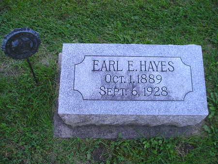 HAYES, EARL E - Bremer County, Iowa | EARL E HAYES