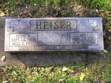 HEISER, EVERETT C - Bremer County, Iowa | EVERETT C HEISER