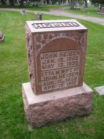 HEISER, JOHN - Bremer County, Iowa | JOHN HEISER