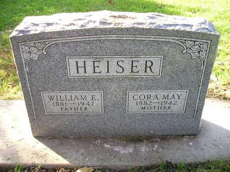 HEISER, WILLIAM E - Bremer County, Iowa   WILLIAM E HEISER