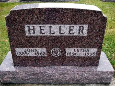 HELLER, JOHN - Bremer County, Iowa | JOHN HELLER
