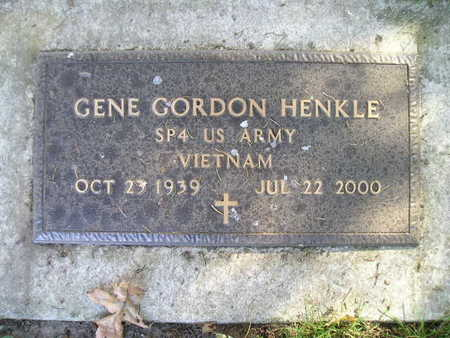HENKLE, GENE GORDON - Bremer County, Iowa | GENE GORDON HENKLE