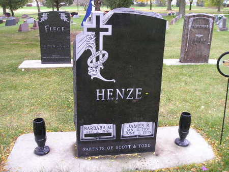 HENZE, BARBARA M - Bremer County, Iowa | BARBARA M HENZE