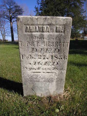 HESKETT, AMANDA M - Bremer County, Iowa | AMANDA M HESKETT
