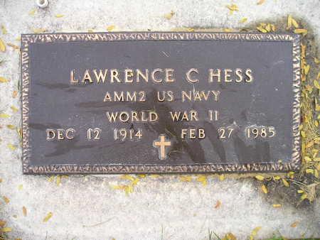 HESS, LAWRENCE C - Bremer County, Iowa | LAWRENCE C HESS