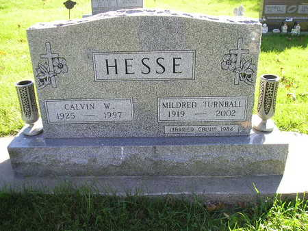 HESSE, MILDRED - Bremer County, Iowa | MILDRED HESSE
