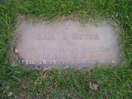 HEYER, CARL A - Bremer County, Iowa   CARL A HEYER