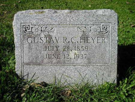 HEYER, GUSTAV R C - Bremer County, Iowa | GUSTAV R C HEYER