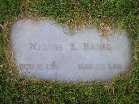 HEYER, MARTHA E - Bremer County, Iowa | MARTHA E HEYER