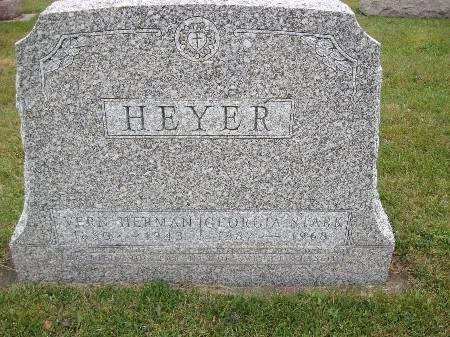 HEYER, VERN HERMAN - Bremer County, Iowa | VERN HERMAN HEYER